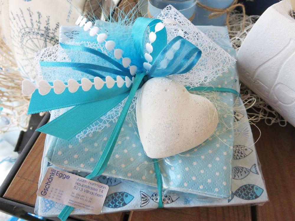 Dekorationen Geschenke Gschänkli-Egge Villnachern