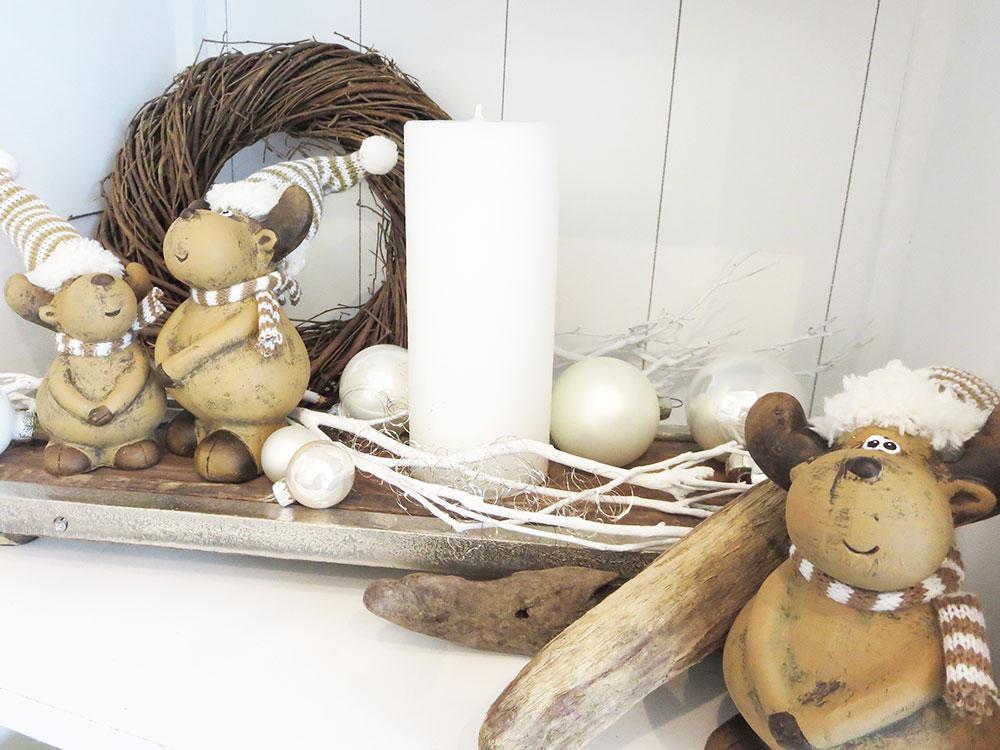 Winter- und Weihnnachtsdekorationen im Gschänkli-Egge Villnachern