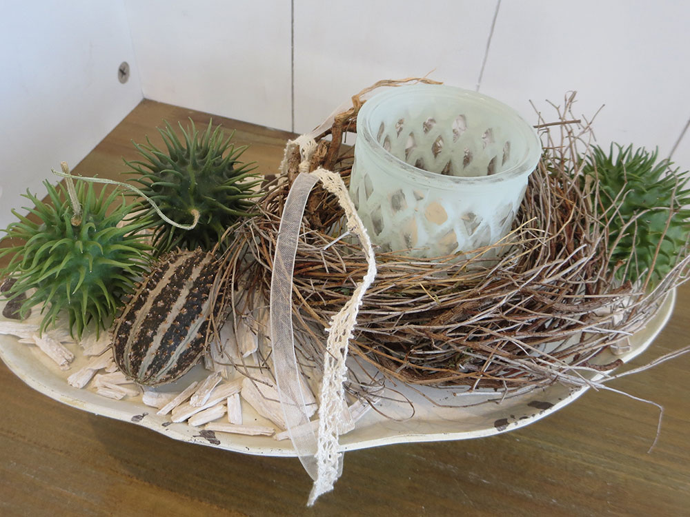 Herbstdekorationen im Gschänkli-Egge