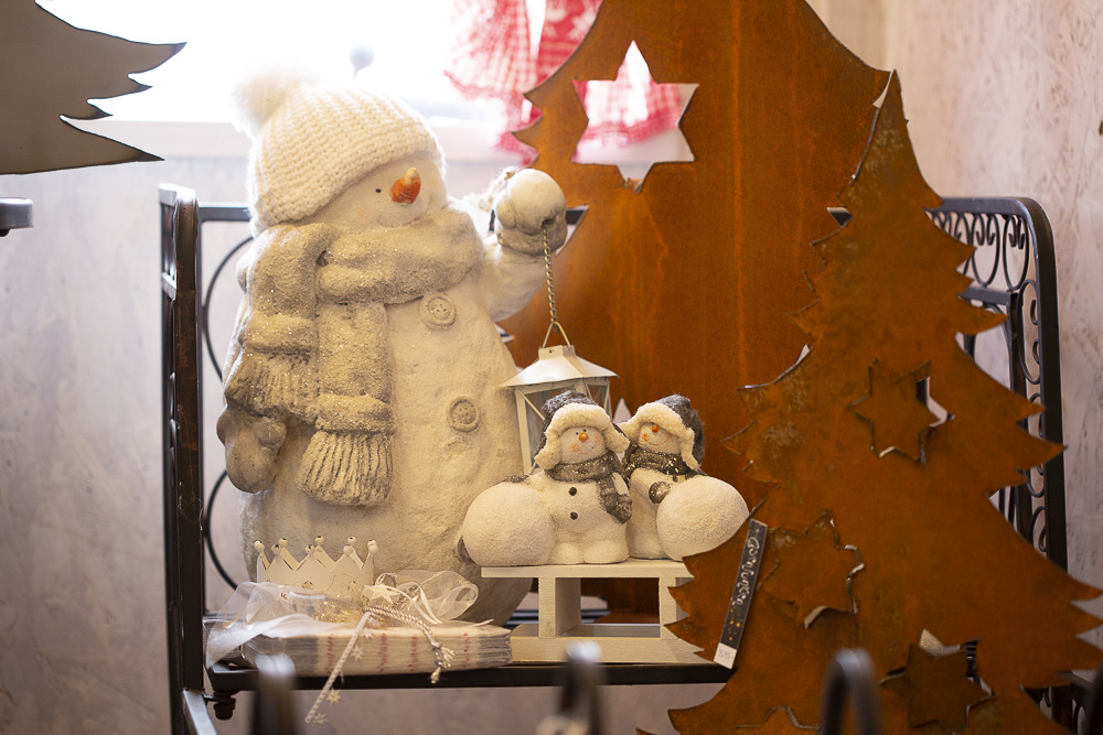 Weihnachtsdekorationen im Gschänkli-Egge
