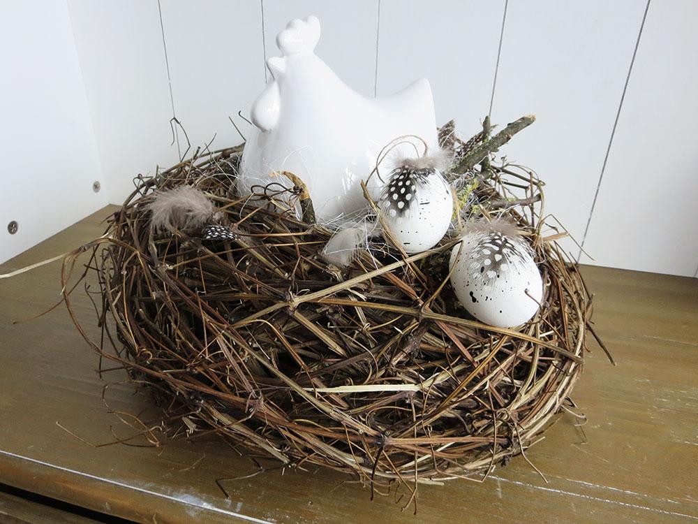 Osterdekorationen im Gschänkli-Egge